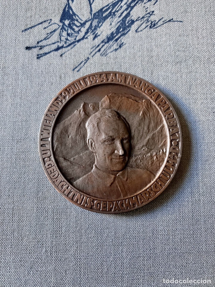 Coleccionismo deportivo: LA TRÁGICA EXPEDICIÓN ALPINA ALEMANA de 1934 AL Nanga Parbat, Pakistán. Uli Wieland. - Foto 4 - 195370633