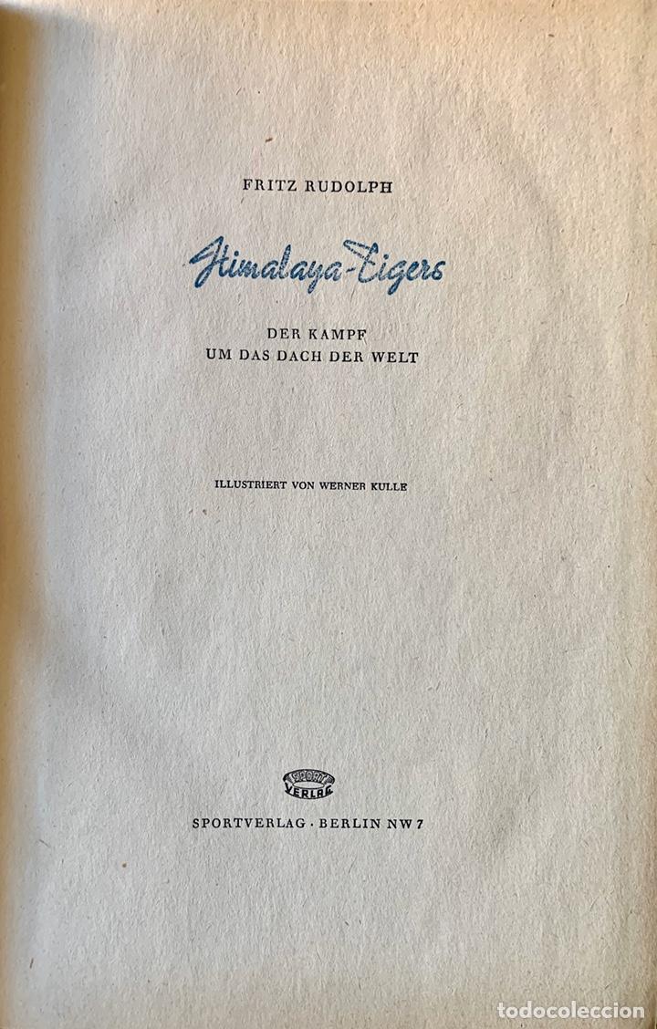 Coleccionismo deportivo: LA TRÁGICA EXPEDICIÓN ALPINA ALEMANA de 1934 AL Nanga Parbat, Pakistán. Uli Wieland. - Foto 10 - 195370633