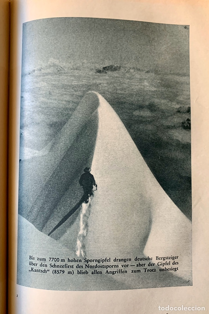Coleccionismo deportivo: LA TRÁGICA EXPEDICIÓN ALPINA ALEMANA de 1934 AL Nanga Parbat, Pakistán. Uli Wieland. - Foto 14 - 195370633