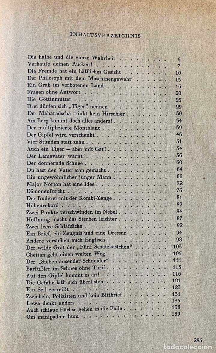 Coleccionismo deportivo: LA TRÁGICA EXPEDICIÓN ALPINA ALEMANA de 1934 AL Nanga Parbat, Pakistán. Uli Wieland. - Foto 18 - 195370633