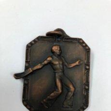 Coleccionismo deportivo: MEDALLA PELOTA VASCA CLUB VASCONIA SUBCAMPEON 1968 CESTA PUNTA JAI ALAI. Lote 195466298