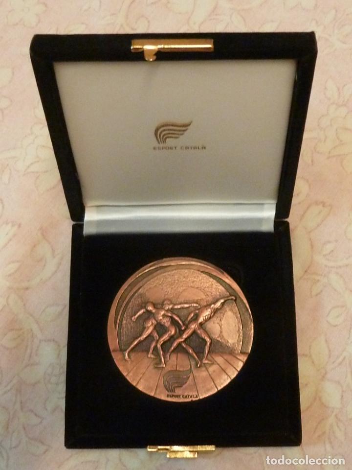 GRAN MEDALLA ESPORT CATALÀ – FORJADOR DE LA HISTORIA 1993 (Coleccionismo Deportivo - Medallas, Monedas y Trofeos - Otros deportes)