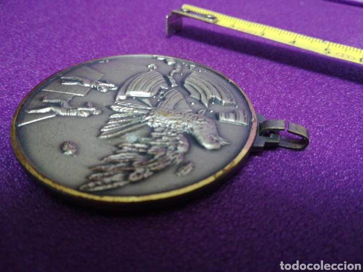 Coleccionismo deportivo: Medalla de tiro al plato Oloron Jaca 22 junio 1986 pichón - Foto 3 - 199945108