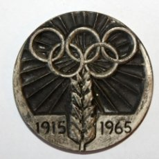 Coleccionismo deportivo: MEDALLA BODAS DE ORO DEL 50º ANIVERSARIO DEL ATLETISMO CATALAN. CATALUÑA. 1915-1965. Lote 201179167