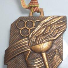 Coleccionismo deportivo: MEDALLA OLIMPICA OLIMPIADAS LA CAIXA CATALUNYA BARCELONA. Lote 203246010
