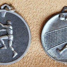 Coleccionismo deportivo: LOTE DE DOS MEDALLAS TROFEOS DEPORTIVOS. BUEN ESTADO. Lote 203403765