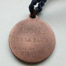 Coleccionismo deportivo: MEDALLA U.C.D. EN LA BAHÍA. CÁDIZ 1 DE ABRIL DE 1979. Lote 205199278