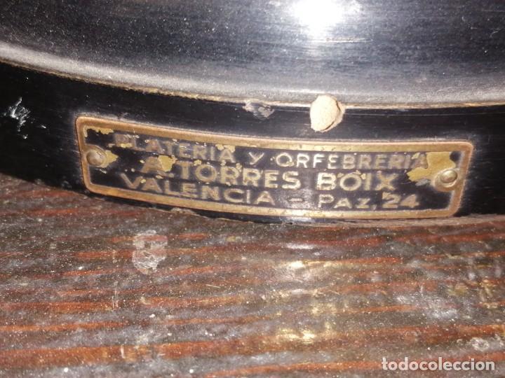 Coleccionismo deportivo: Copa Trofeo tiro al pichón sagunto 1930 - Foto 4 - 206376580