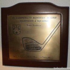 Coleccionismo deportivo: GOLF TROFEO EISENHOWER 1964. Lote 206418231