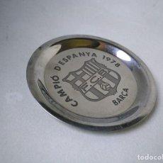 Coleccionismo deportivo: PLATO FÚTBOL CLUB BARCELONA CAMPEÓN DE ESPAÑA 1978. Lote 207139287