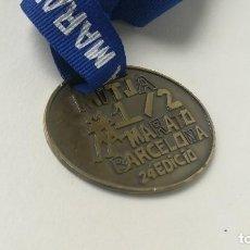 Coleccionismo deportivo: MEDALLA MEDIA MARATÓN BARCELONA 2014. Lote 207139315