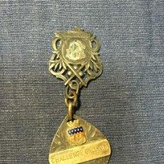 Coleccionismo deportivo: DOS MEDALLAS FRANCIA PLATA CAMPEONATO HOCKEY GILLARD 1912 CHALLENGE GALLAIS RELAIS 1913. Lote 207178416