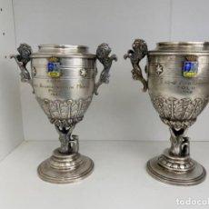 Collectionnisme sportif: SEIS TROFEOS COPAS COMUNIDAD DE MADRID POLO. Lote 234664605