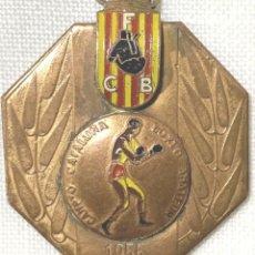 Collectionnisme sportif: MEDALLA DEPORTIVA - CAMPEONATO CATALUÑA BOXEO AMATEUR - FEDERACIÓN CATALANA DE BOXEO - AÑO 1956. Lote 208040746