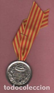 Coleccionismo deportivo: MEDALLA DEL CLUB ATLETIC MANRESA - CAM TEMPORADA 1996 - Foto 2 - 208147731