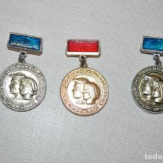 Coleccionismo deportivo: LOTE TRES INSIGNIAS .TORNEO DNIPROPETROVSK.URSS. Lote 209294911