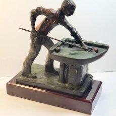 Coleccionismo deportivo: FIGURA TROFEO BILLAR. Lote 209388713