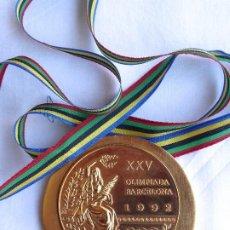 Collectionnisme sportif: MEDALLA METAL DORADO OLIMPIADA BARCELONA 1992. MUESTRA OFICIAL DE LAS ENTREGADAS A CAMPEONES.. Lote 210144228