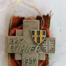 Coleccionismo deportivo: INSIGNIA SAINT-IMIER, AÑO 1847 - 1947. Lote 210633557