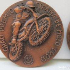 Coleccionismo deportivo: MEDALLA GRAN PREMIO DE ESPAÑA MOTO CROSS - MANCOMUNIDAD SABADELL TERRASA - AÑO 1971. Lote 211676830
