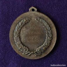 Coleccionismo deportivo: MEDALLA DE SOCIEDAD EXCURSIONISTA MANUEL IRADIER S.E.M.I. VITORIA. MONTAÑA 1970. JUAN SALAZAR.. Lote 212848455