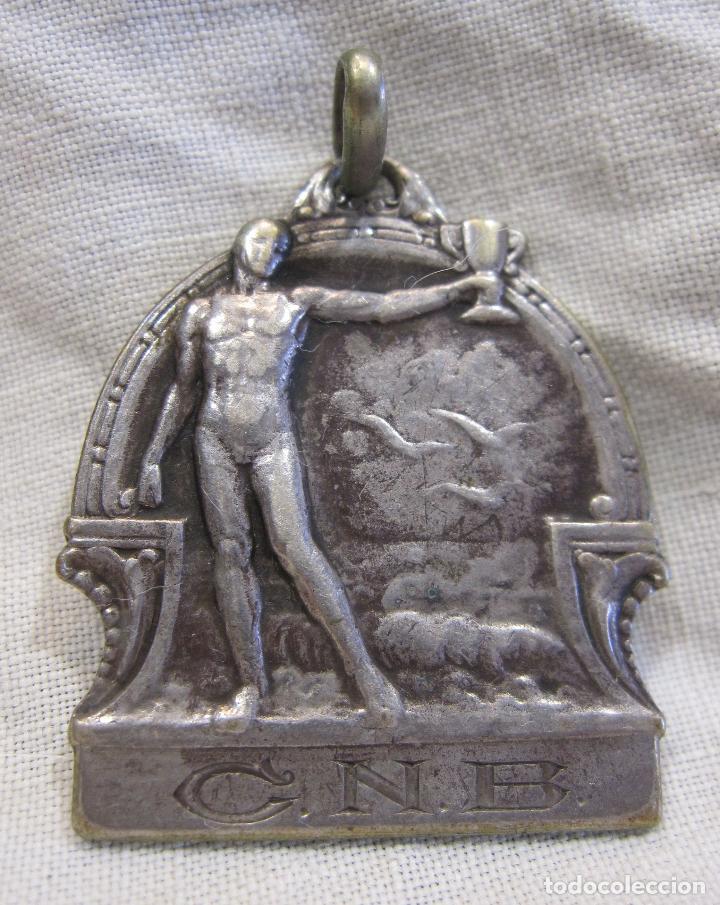 MEDALLA CLUB NATACIÓ BARCELONA. CONCURS D'HIVERN 1925 - 1926 PER EQUIPS COOPERACIÓ. PLATA 800. (Coleccionismo Deportivo - Medallas, Monedas y Trofeos - Otros deportes)
