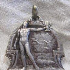 Coleccionismo deportivo: MEDALLA CLUB NATACIÓ BARCELONA. CONCURS D'HIVERN 1925 - 1926 PER EQUIPS COOPERACIÓ. PLATA 800.. Lote 213487518