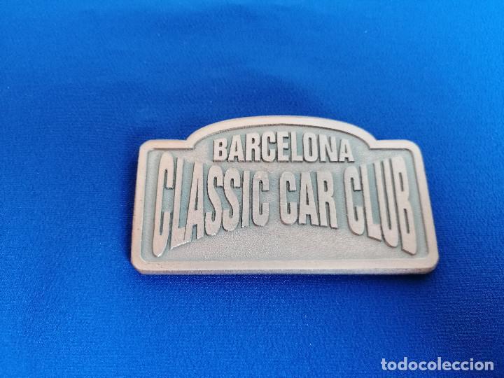 Coleccionismo deportivo: PLACA RALLYE CLASSIC COSTA BRAVA 1994 -BARCELONA CLASSIC CAR CLUB- - Foto 4 - 214228190