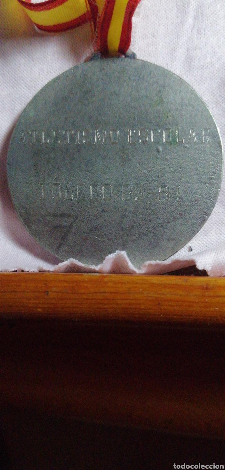 Coleccionismo deportivo: ANTIGUA MEDALLA DE COMPETICIÓN ATLETISMO - Foto 2 - 216498535