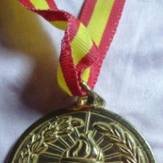 Coleccionismo deportivo: ANTIGUA MEDALLA DE COMPETICIÓN DORADA. Lote 216500311