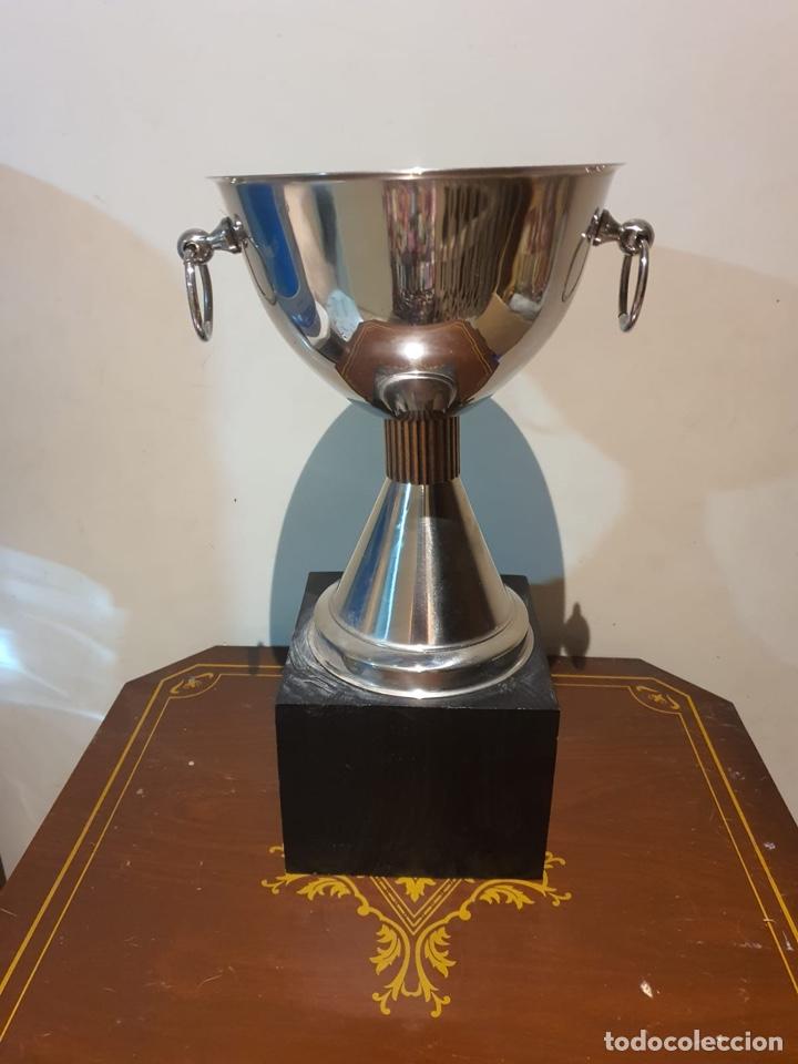 ANTIGUO TROFEO TIRO AL PLATO (Coleccionismo Deportivo - Medallas, Monedas y Trofeos - Otros deportes)