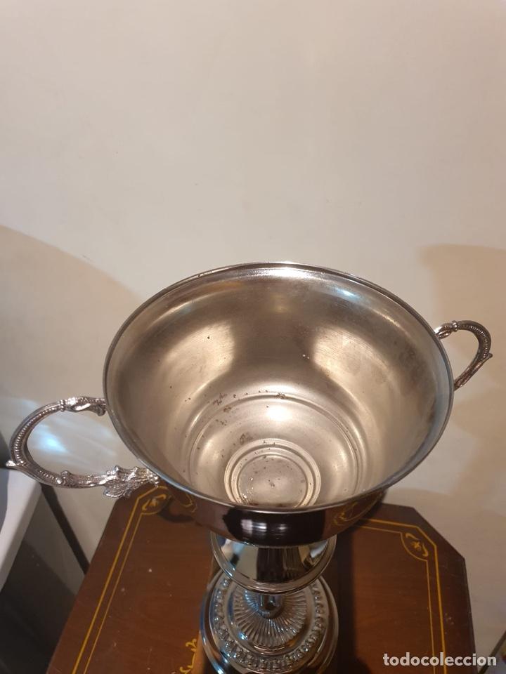 Coleccionismo deportivo: Antiguo trofeo tiro al plato - Foto 2 - 216779153