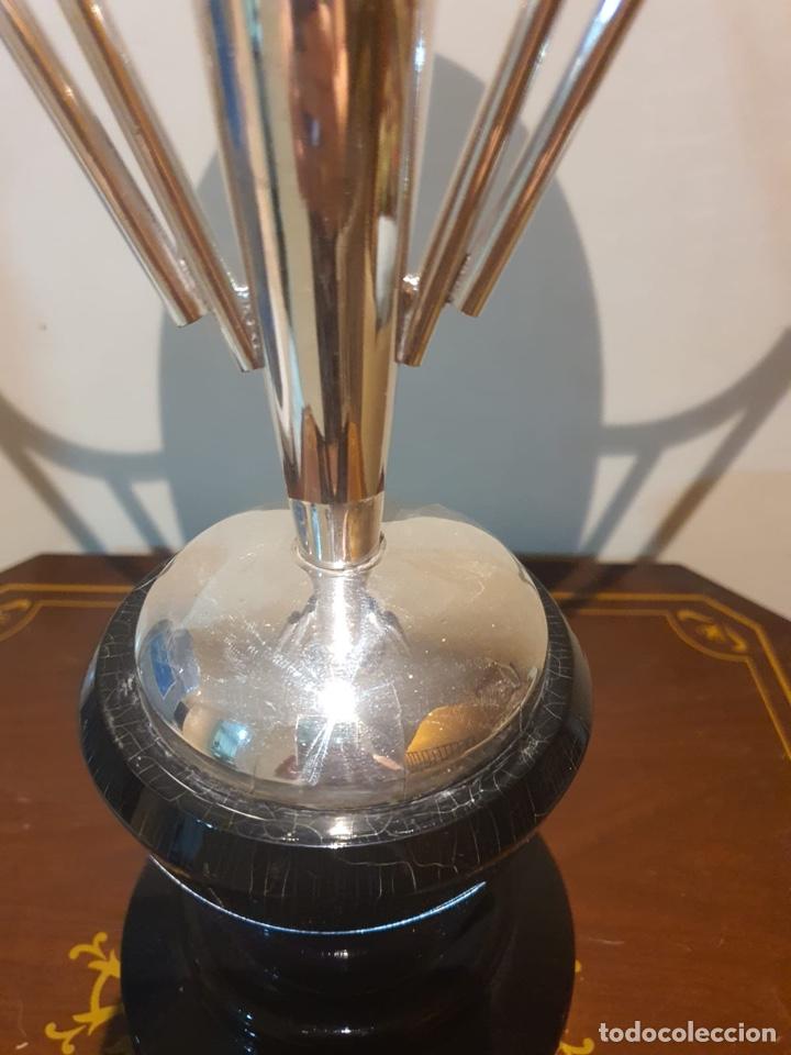 Coleccionismo deportivo: Antiguo trofeo tiro al plato - Foto 3 - 216779376