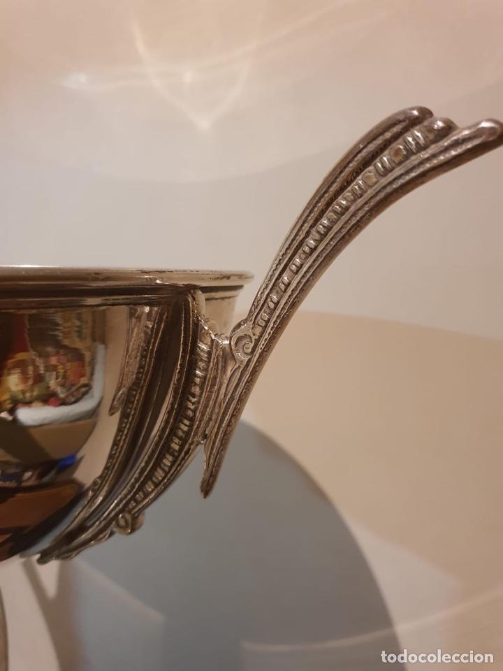 Coleccionismo deportivo: Antiguo trofeo tiro al plato - Foto 4 - 216779555