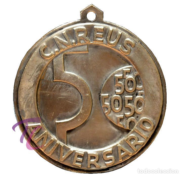 Coleccionismo deportivo: MEDALLA CNR 1968 CLUB NATACION REUS TARRAGONA 50 ANIVERSARIO - Foto 3 - 118943743