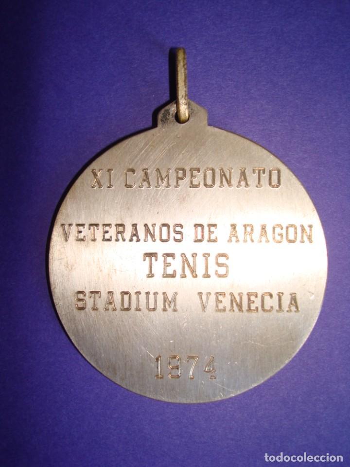 Coleccionismo deportivo: MEDALLA DE VETERANOS 1974.STADIUM VENECIA .ZARAGOZA. - Foto 2 - 218263033