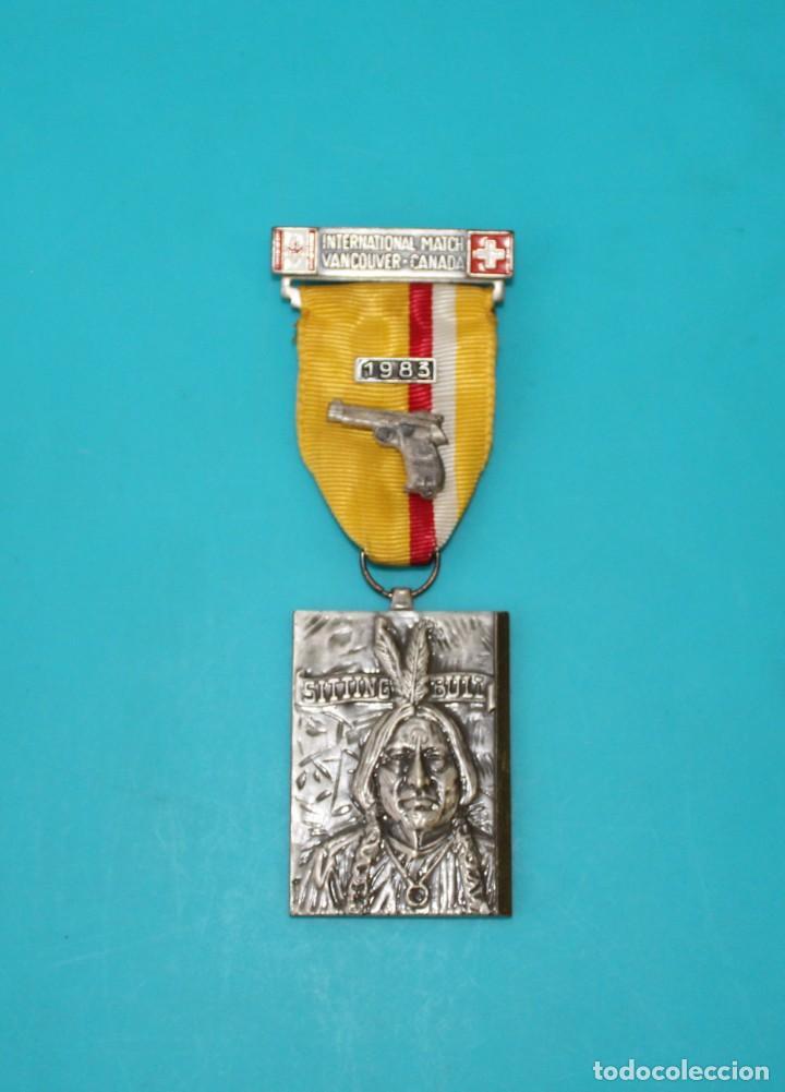 MEDALLA DE TIRO DE PISTOLA SUIZO CANADIENSE, 1971 (Coleccionismo Deportivo - Medallas, Monedas y Trofeos - Otros deportes)