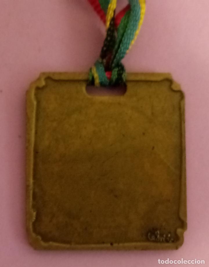 Coleccionismo deportivo: MEDALLA JUEGOS OLÍMPICOS - CEBRIÁN - 4 x 3.5 CMS - Foto 3 - 218464301