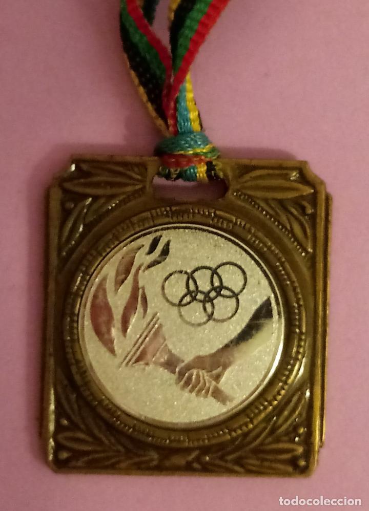 MEDALLA JUEGOS OLÍMPICOS - CEBRIÁN - 4 X 3.5 CMS (Coleccionismo Deportivo - Medallas, Monedas y Trofeos - Otros deportes)
