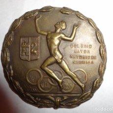 """Coleccionismo deportivo: MEDALLA DE ATLETISMO DEL COLEGIO MAYOR """"ANTONIO DE NEBRIJA"""". Lote 219136921"""