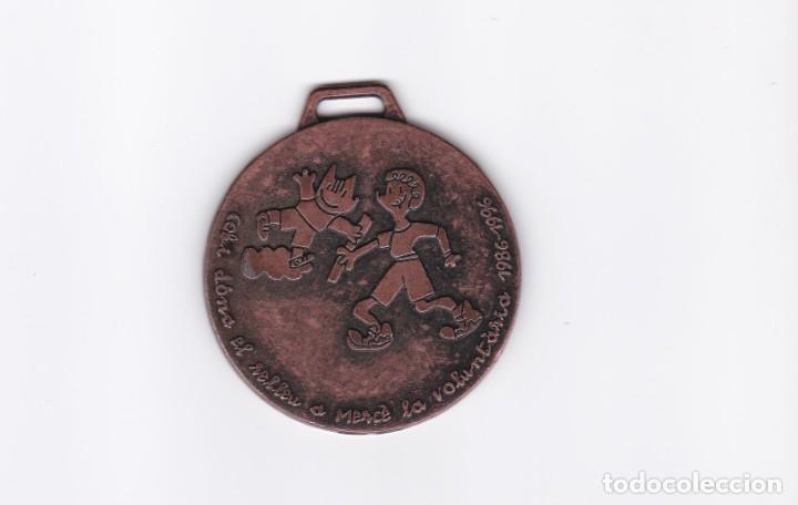 MEDALLA DEL COBI Y LA PETRA DE LAS OLIMPIADAS DE BARCELONA 92 (Coleccionismo Deportivo - Medallas, Monedas y Trofeos - Otros deportes)