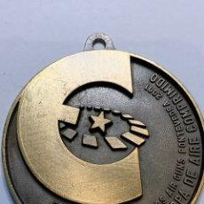 Coleccionismo deportivo: MEDALLA CAMPEONATO DE EUROPA DE TIRO AIRE COMPRIMIDO. Lote 219815696