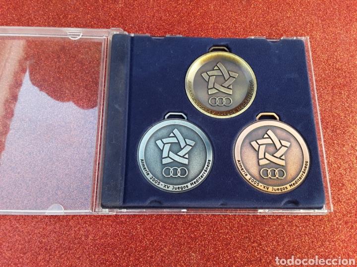 MEDALLAS JUEGOS MEDITERRÁNEOS ALMERÍA 2005 (Coleccionismo Deportivo - Medallas, Monedas y Trofeos - Otros deportes)