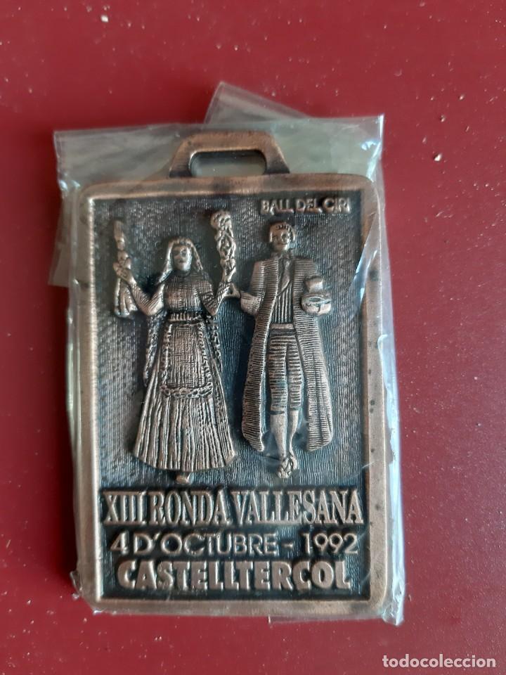MEDALLA CONMEMORATIVA XIII RONDA VALLESANA (UES)- AÑO 1992 (Coleccionismo Deportivo - Medallas, Monedas y Trofeos - Otros deportes)