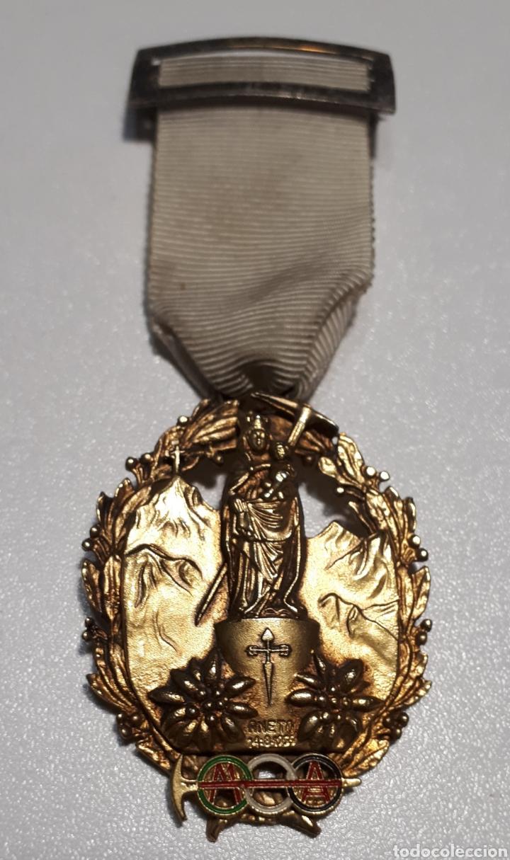 MEDALLA ANETO, 1975. (Coleccionismo Deportivo - Medallas, Monedas y Trofeos - Otros deportes)