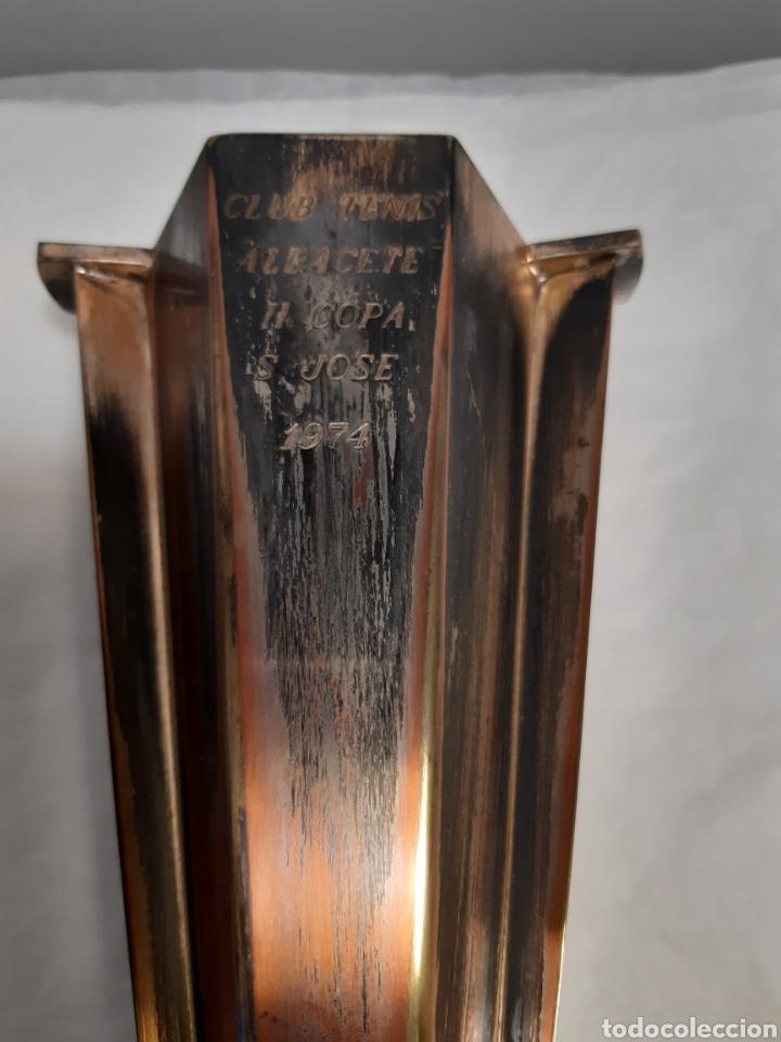 Coleccionismo deportivo: Trofeo o copa deportiva tenis - Foto 2 - 223120140
