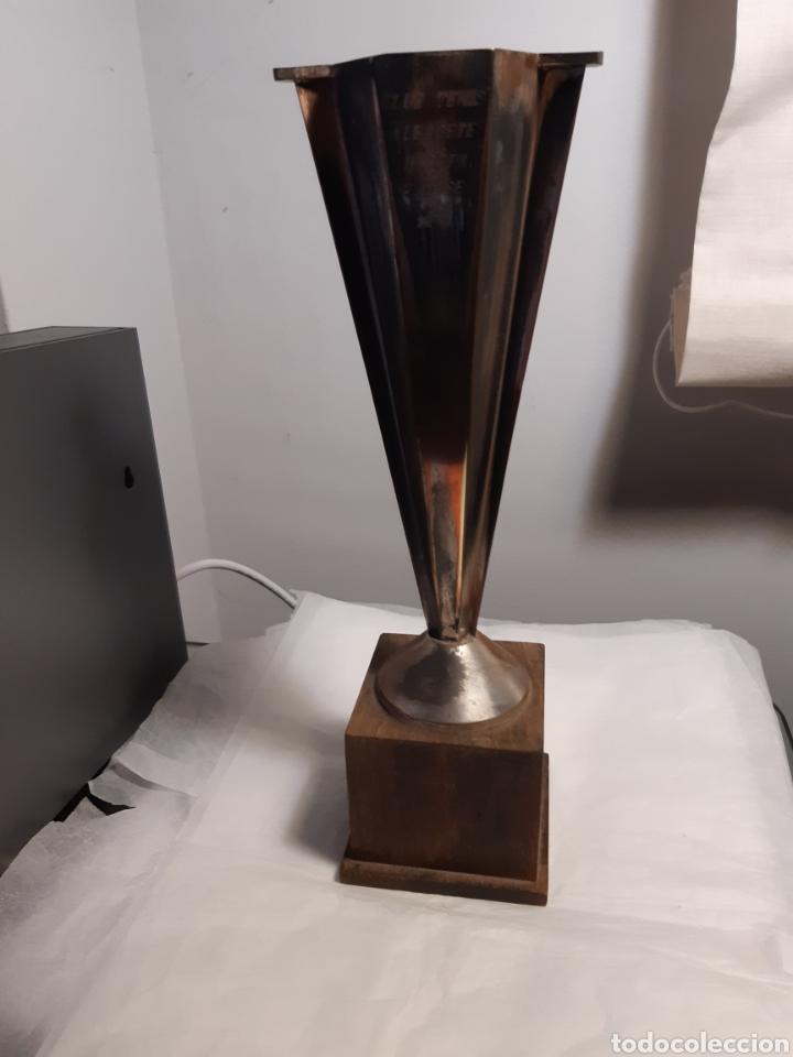TROFEO O COPA DEPORTIVA TENIS (Coleccionismo Deportivo - Medallas, Monedas y Trofeos - Otros deportes)