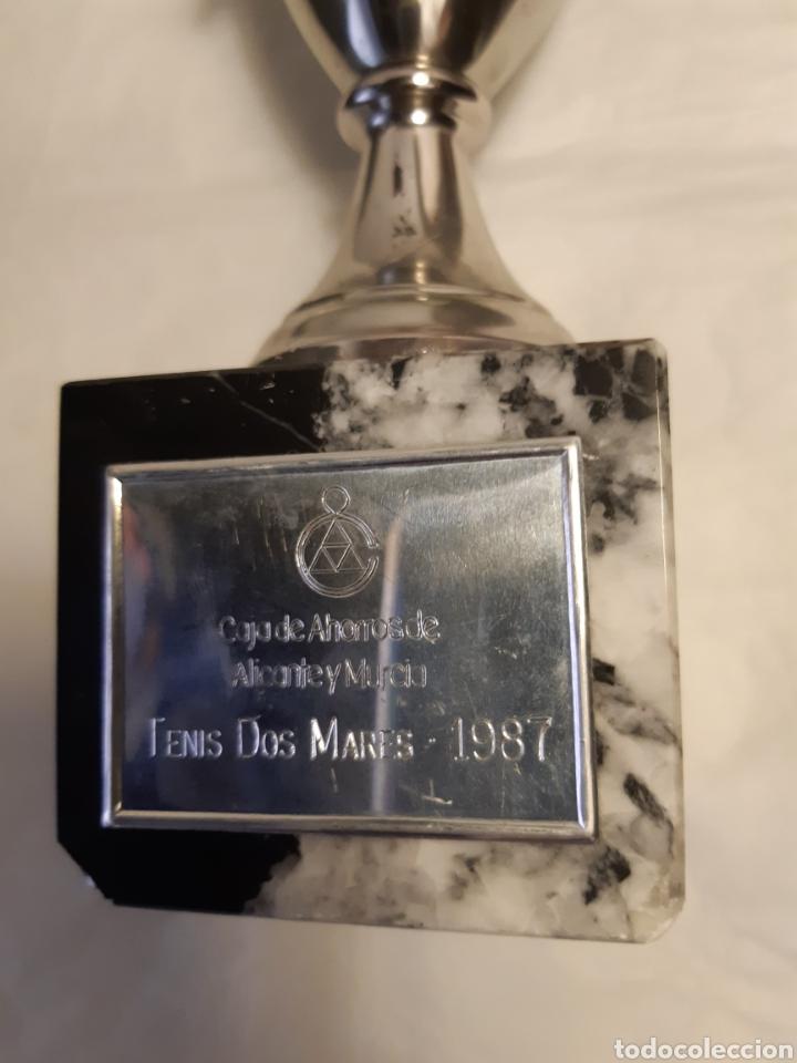 Coleccionismo deportivo: Trofeo o copa deportiva tenis - Foto 3 - 223120583