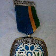 Coleccionismo deportivo: MEDALLA DE SIBERIA DE EL 1982.. Lote 226976795