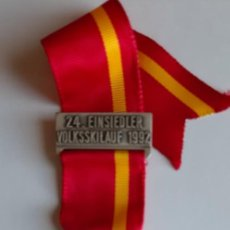 Coleccionismo deportivo: MEDALLA CONMEMORATIVA DE LA 24ª EINSIEDLER VOLKSSKILAUF (SUIZA) 1992. Lote 228800060